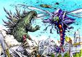 Concept Art - Godzilla vs. Megaguirus - Godzilla vs. Megaguirus 1