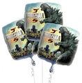 Godzilla 2014 Party Foil Balloons