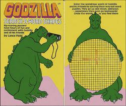 Godzilla Search A Word Shapes