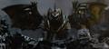 Godzilla Final Wars - 5-6 Monster X Grows Wings