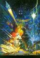 Godzilla vs. SpaceGodzilla Poster Textless