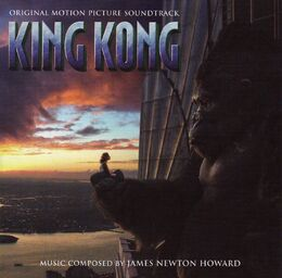 King Kong Original Motion Picture Soundtrack - Soundtrack cover
