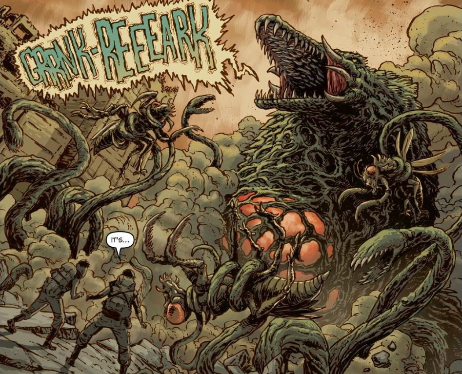 Image - Godzilla Cataclysm Issue 1 - Biollante.png | Gojipedia ...