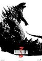 Godzilla 2014 We Awakened Something Poster