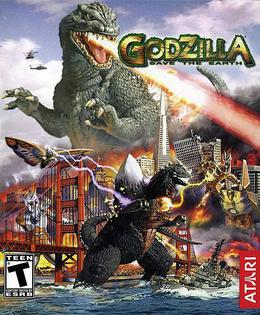 Godzilla Save the Earth - Box art