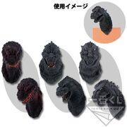 Godzilla magnet heads