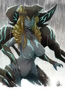 Kaiju girl scunner by ohmega18-d6fcmlf