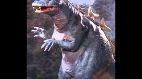 Baby Godzilla Roar