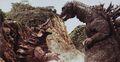 GMK - Godzilla Stares At Baragon