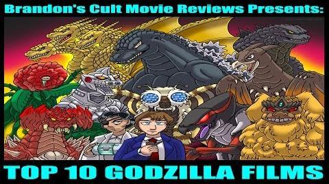 Brandon's Cult Movie Reviews Top 10 Godzilla Films