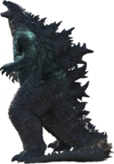 Godzilla (Gojira) MV transparent 3