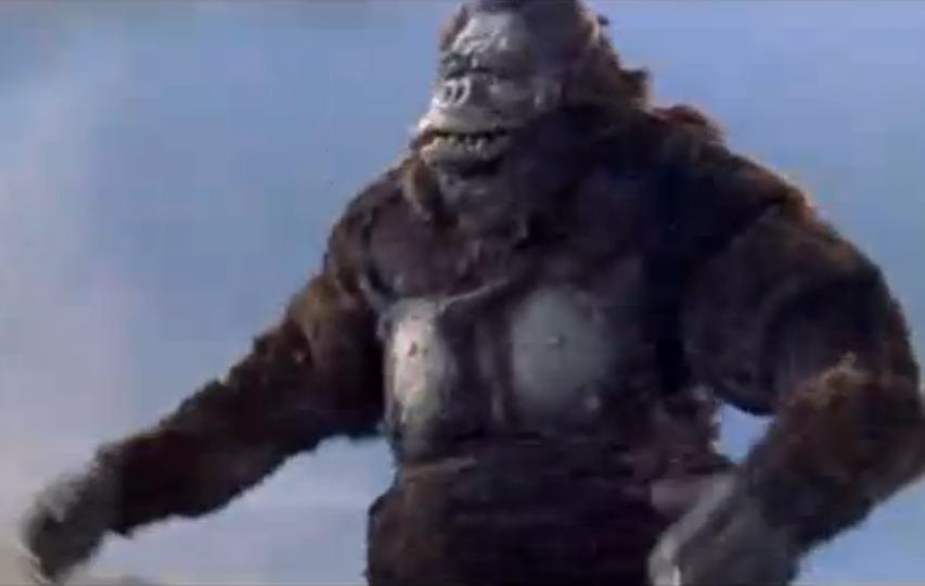 Dibujos Godzilla Raids Again 1955 Para Colorear: King Kong Vs. Godzilla
