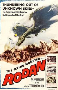 Rodan Poster United States 1