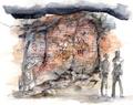 Concept Art - Godzilla Final Wars - Shobijin Cave 1