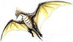 Concept Art - Godzilla vs. MechaGodzilla 2 - Rodan 4