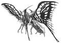 Concept Art - Godzilla vs. Mothra - Battra Imago 2
