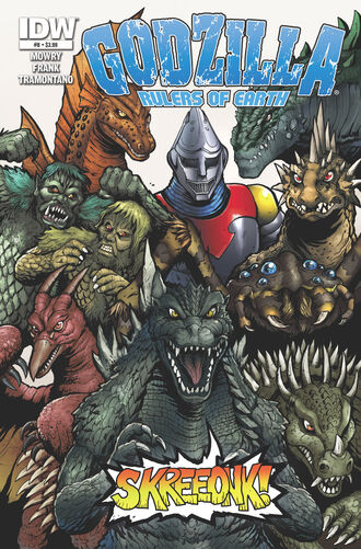 RULERS OF EARTH Issue 8 CVR A