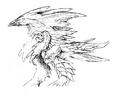 Concept Art - Godzilla 2000 Millennium - Orga 70
