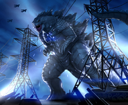 Godzilla s coming to tokyo by warriorking4ever-d83o519