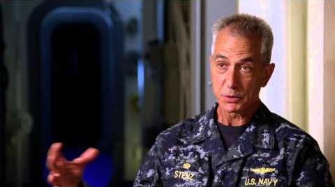 "Godzilla 2014 David Strathairn ""Admiral William Stenz"" On Set Movie Interview"