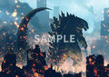 Godzilla Planet of the Monsters - 7net - A3 poster