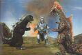 TOMG - Godzilla vs. MechaGodzilla and Titanosaurus