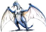 Concept Art - Godzilla vs. MechaGodzilla 2 - Rodan 2