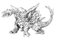 Concept Art - Rebirth of Mothra - Desghidorah 5