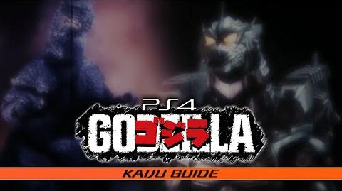 All KAIJU GUIDE Entries - GODZILLA The Game