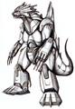 Concept Art - Godzilla Against MechaGodzilla - Kiryu 2