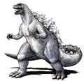 Concept Art - Godzilla vs. King Ghidorah - Godzilla 1