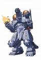Concept Art - Godzilla Against MechaGodzilla - Kiryu 13