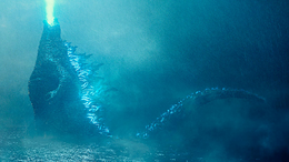 Godzilla King of the Monsters - Godzillas appearance