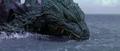 Godzilla vs. Megaguirus - Godzilla looks like he's REALLY pissed, and nothing has happened yet!