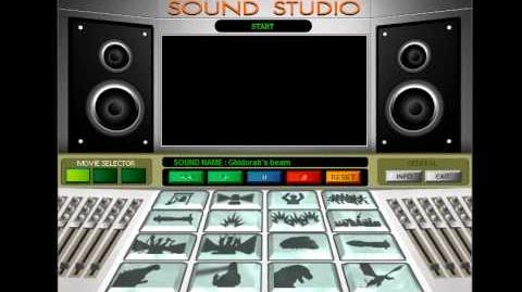 Godzilla Movie Studio Tour - Sound Studio