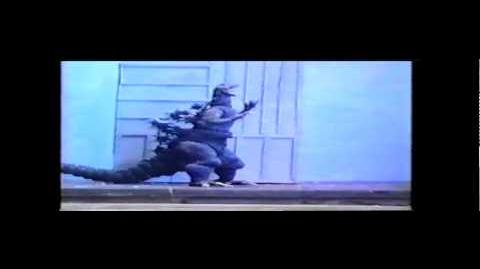 Stop Motion Godzilla vs The Beast from 20,000 Fathoms Part 2