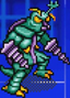 Gojira Kaiju Dairantou Advance - Character Sprites - Megalon