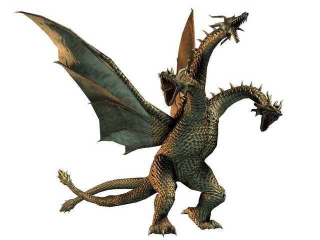 File:King Ghidorah in Godzilla Unleashed game of 2007.png