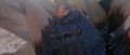 Godzilla VS SpaceGodzilla - SpaceGodzilla appears