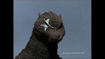 Godzilla as kiss
