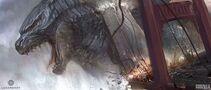 Concept Art - Godzilla 2014 - Kan Muftic 1 Godzilla