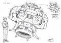 Concept Art - Godzilla vs. Megaguirus - Dimension Tide 2