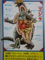 Godzilla Kabou Zukan Anatomy