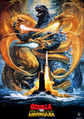 Godzilla vs. King Ghidorah Poster International 2