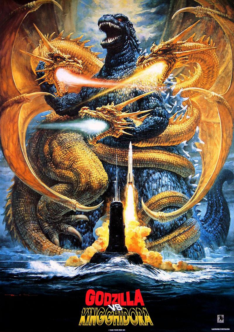 Image result for Godzilla vs. King Ghidorah