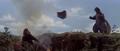 King Kong vs. Godzilla - 41 - King Kong Throws A Rock While Godzilla Dances