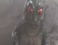 Little Godzilla has seen through hell!