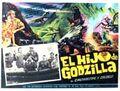 Son of Godzilla Poster Mexico 1