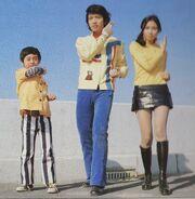 ZF - Hikaru, Hotaru and Akira