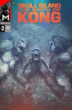 Skull Island Birth of Kong Issue3